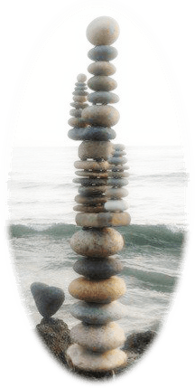 we all need balance, like these balancing rocks
